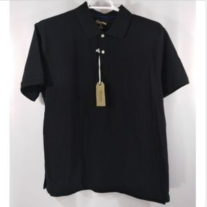 St Johns Bay Outfitters Black Heritage Polo XL